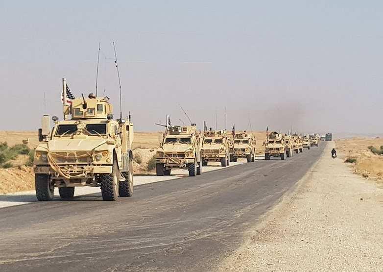 Колонны войск США прибывают в Сирию. Зачем? (ФОТО, ВИДЕО) | Русская весна