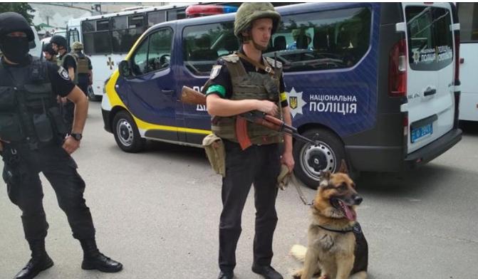 Повышенная опасность: Нацполиция усиливает меры безопасности на Украине | Русская весна