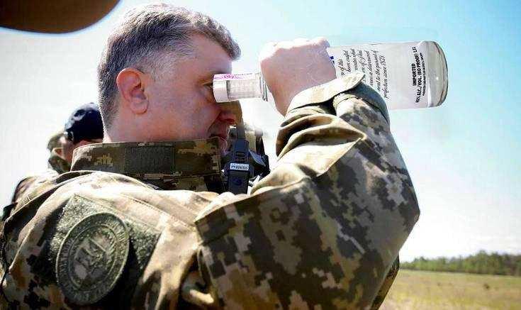 Порошенко: «Я лечу на фронт» (ВИДЕО)   Русская весна
