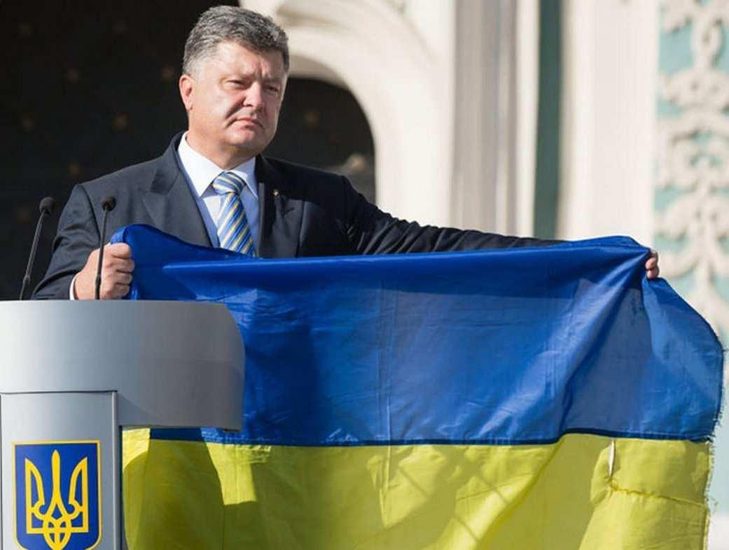 ВСовфеде ответили наслова Порошенко обукраинском флаге надДонецком | Русская весна