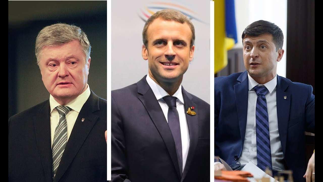 У Порошенко «примазались» к встрече Зеленского с Макроном | Русская весна