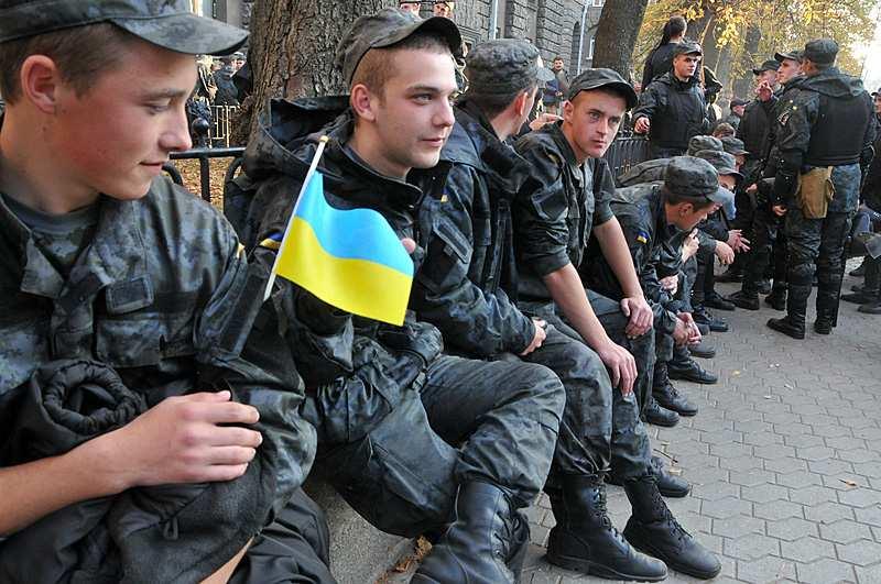 На Украине изменён возраст призыва в ВСУ — Зеленский подписал указ   Русская весна