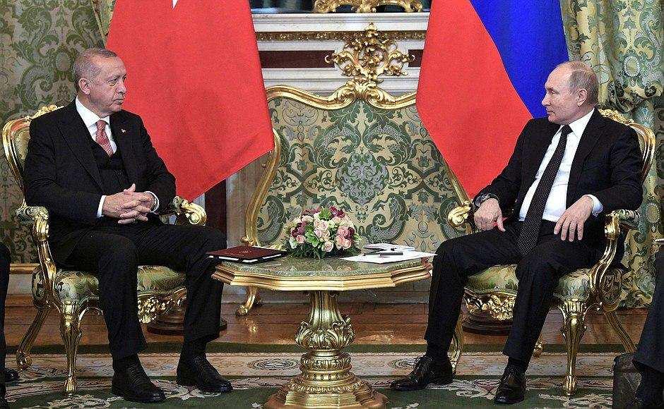 Эрдоган рассказал, о чём просил Путина, говоря о Сирии   Русская весна