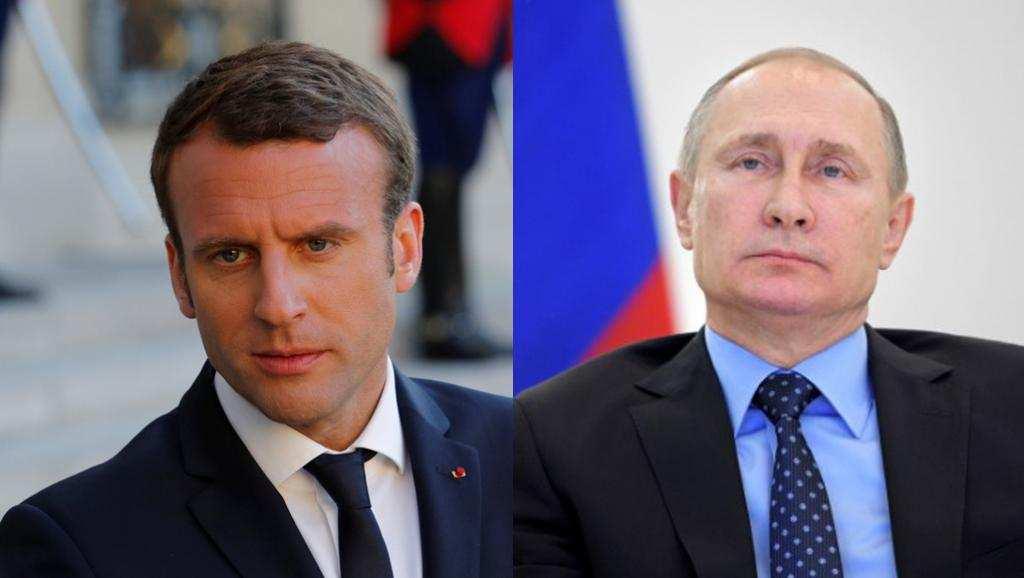«Альтернативы Минску нет»— Путин иМакрон обсудили Донбасс иУкраину | Русская весна