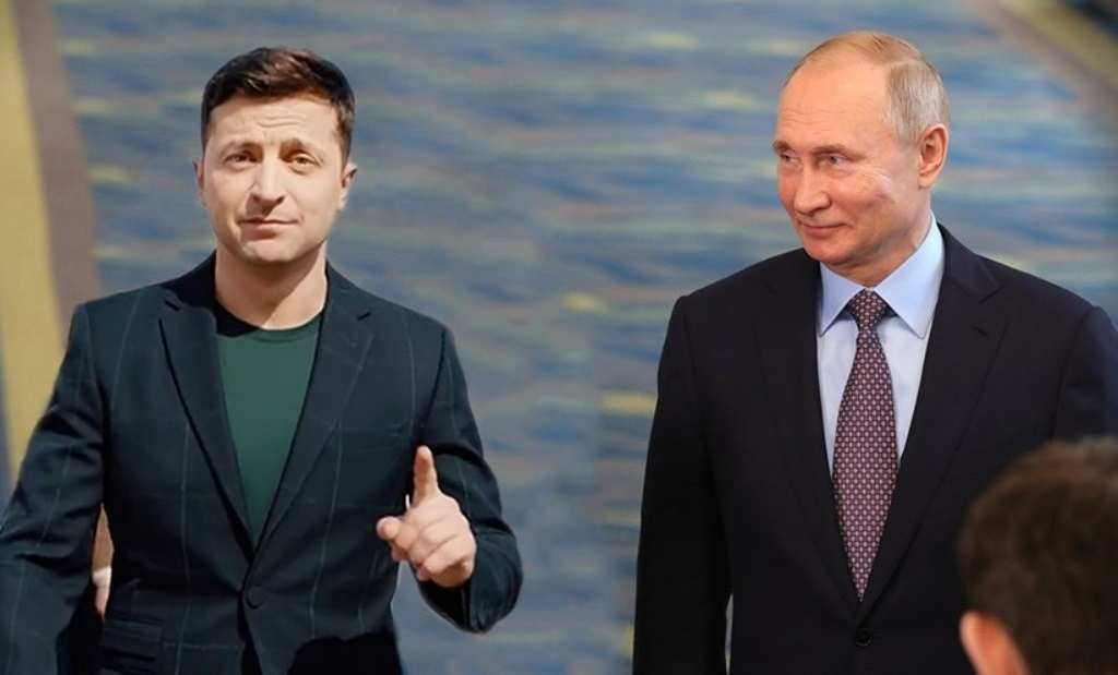 СРОЧНО: Путин прямо спросил уЗеленского опланах Киева повыполнению «Минска-2»   Русская весна
