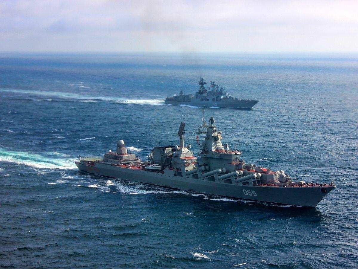 Грозные кадры боевой мощи: флот России — хозяин Северного Ледовитого океана (ВИДЕО) | Русская весна