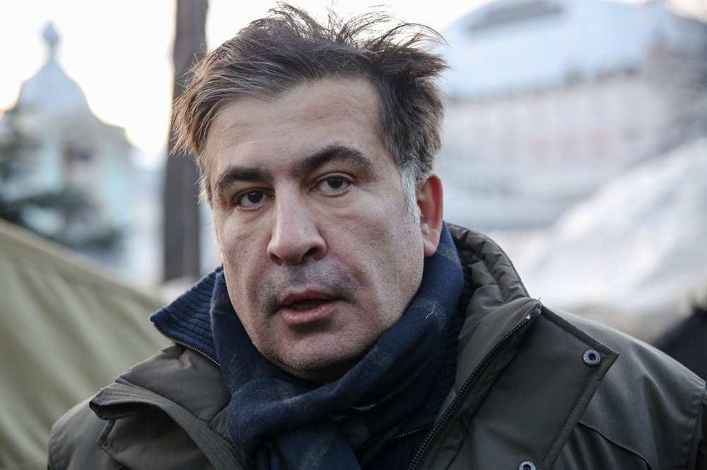Саакашвили: «Охранники думали, что я покусаю Порошенко» (ВИДЕО) | Русская весна