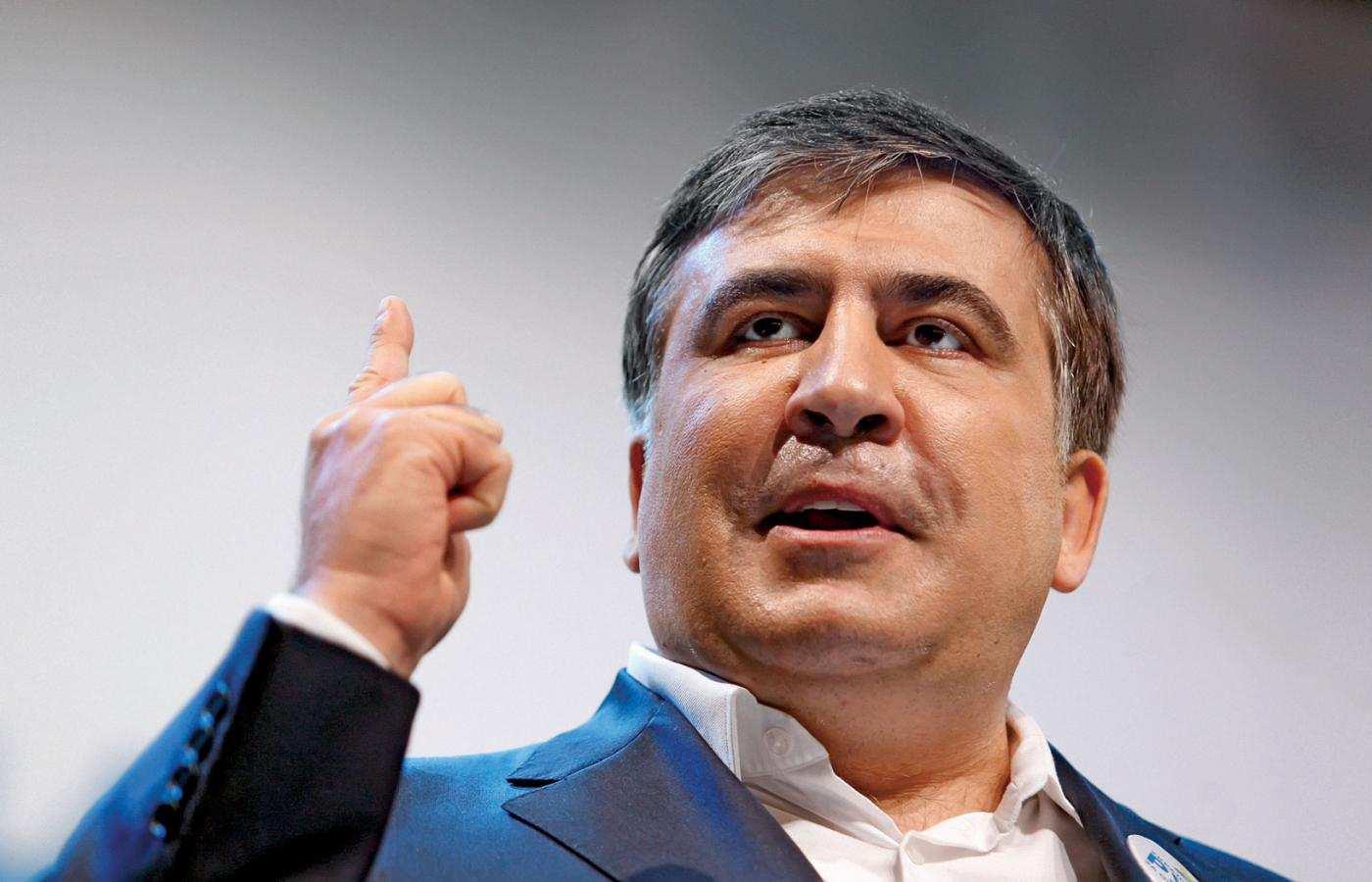 Саакашвили объяснил Зеленскому, как всё устроено на Украине (ВИДЕО) | Русская весна