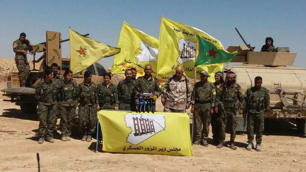 Сирия: «Пехота Коалиции США» выпустила заявление о согласии с Сочинскими договорённостями России и Турции | Русская весна