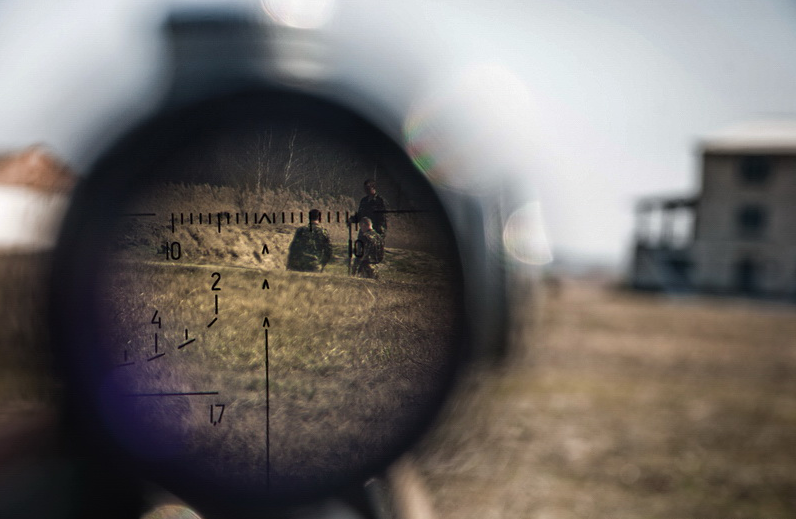 Снова «российский снайпер»: на Луганщине ликвидирован украинский боевик (ФОТО, ВИДЕО) | Русская весна