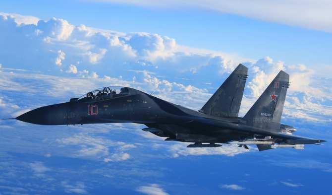 Минобороны показало, как Су-35 охраняли Шойгу над Сирией (ВИДЕО) | Русская весна