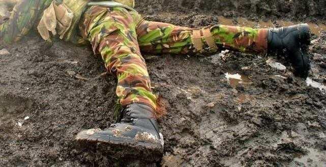 «ВСУшника» с пробитой головой бросили в окоп как собаку: сводка с Донбасса   Русская весна