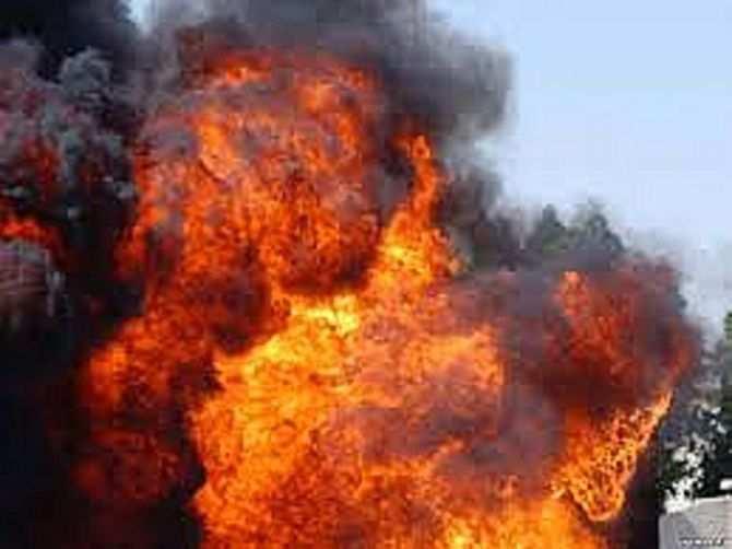 Серия мощных взрывов в Луганске: стали известны подробности (ФОТО) | Русская весна