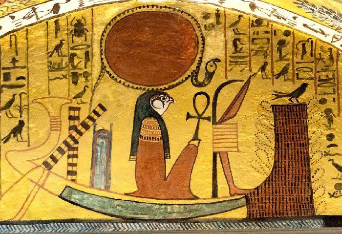 Поклонение Амону.