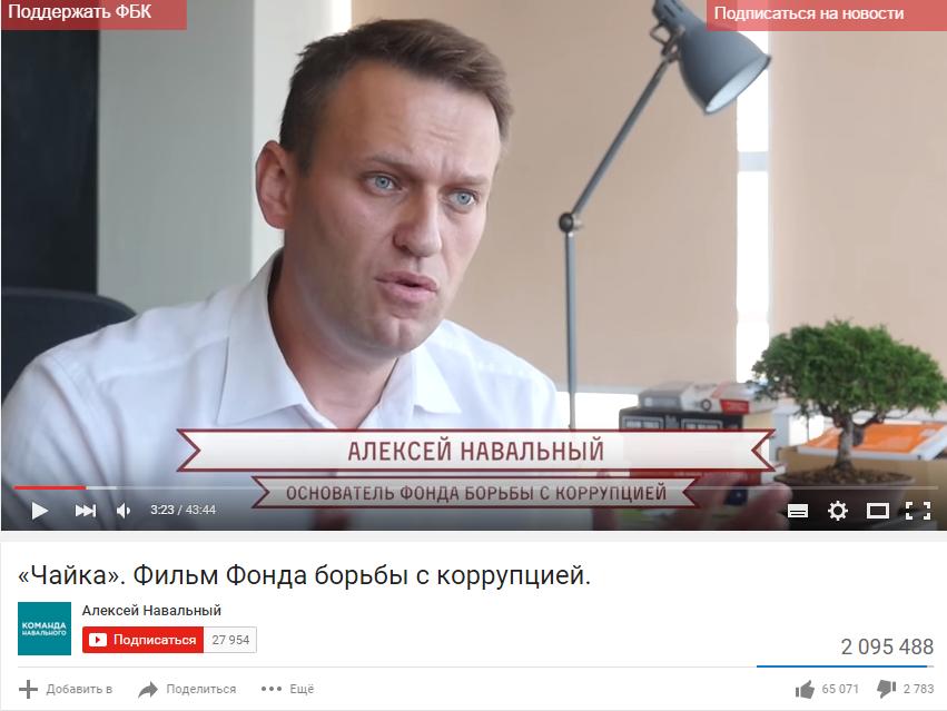 Навальный Чайка