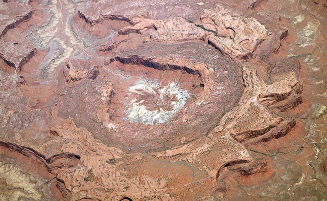 Гигантские кратеры Земли