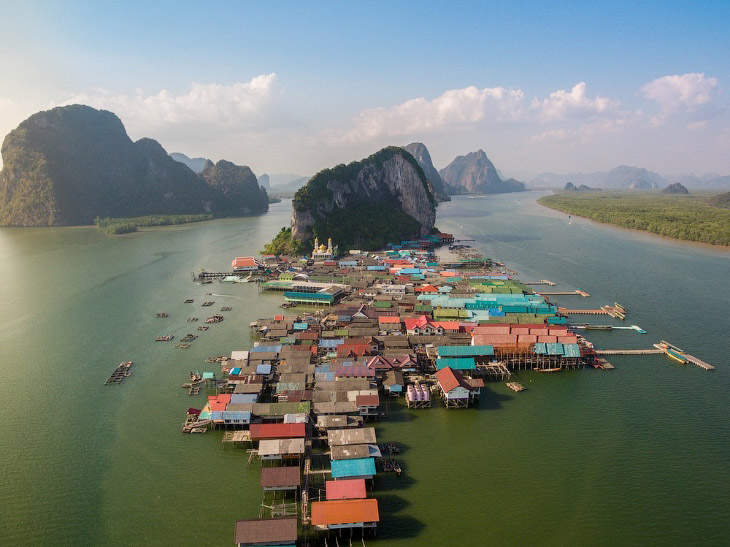 Ко Паньи - деревня на воде в Таиланде