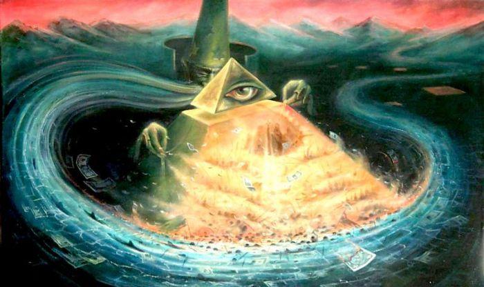 Пирамида закулисной власти. Картина Пархоменко