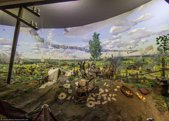 Диорама музея в Минске