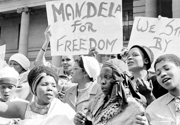 Митинг в Южной Африке, август 1962 года