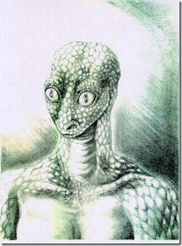 рептилоиды рисунок