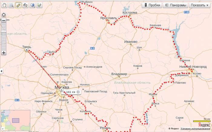 Тверь-Москва сравнение путей по суше и воде