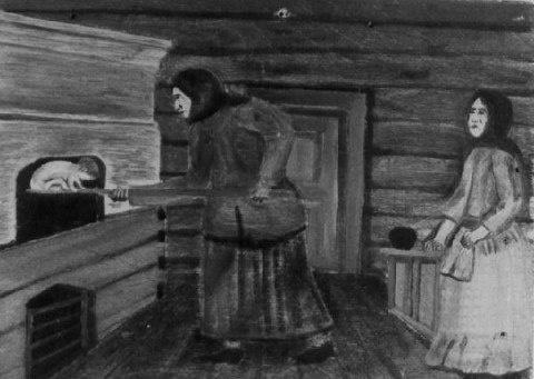 """ОБРЯД """"ПЕРЕПЕКАНИЯ"""" РЕБЕНКА: на лопату и в печь"""