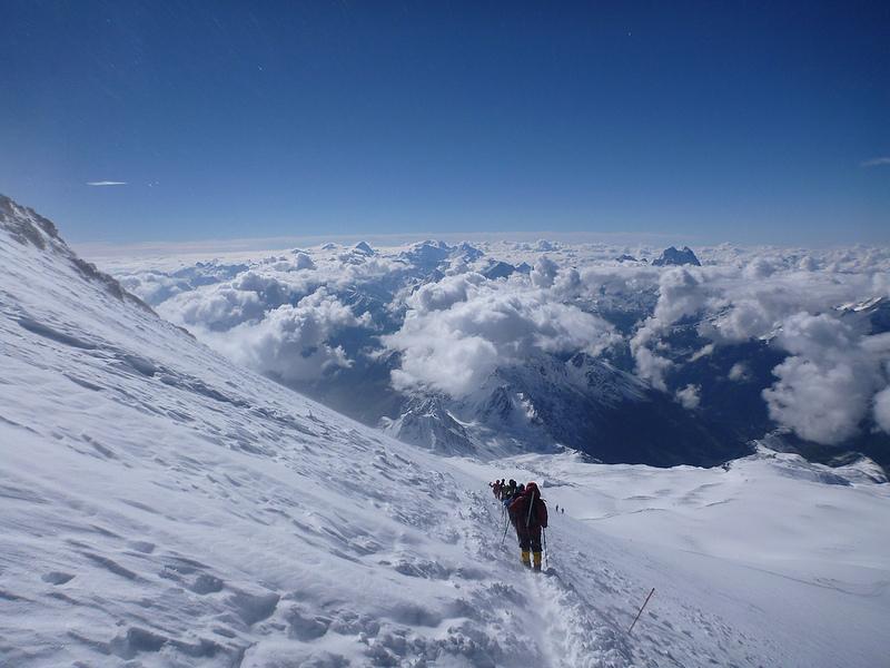 Эльбрус самая высокая гора в Европе фото