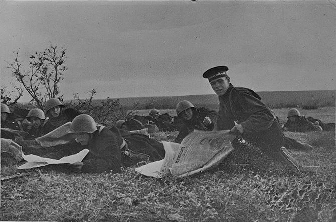 Как 55 морпехов освободили Николаев от 700 фашистов
