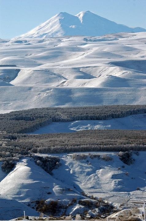 Эльбрус высочайшая вершина Европы фото